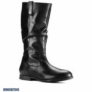 Birkentstock Boots Black Sarnia Leather Boot NEW